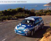 Olivier Ramel et Vanessa Di Grado ont terminé 3e du Groupe N et remporter leur classe lors du rallye « Tour de Corse »